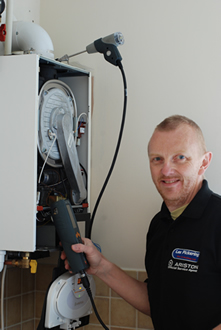 Boiler servicing by Lee Pickering